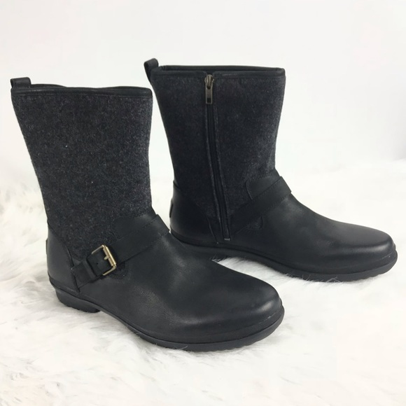 8d1f603a423 UGG Women's Gray Robbie Waterproof Boot Size 11 NWT